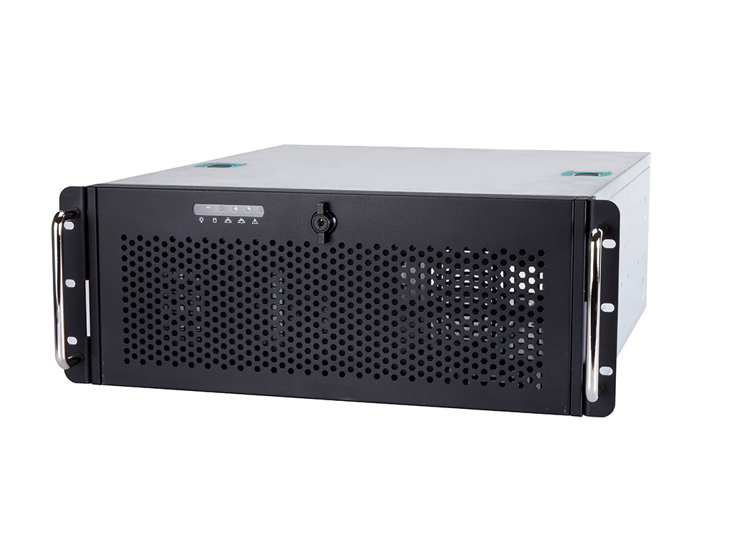 4U Server with 4x Internal HDD & Single or Redundant PSU Support