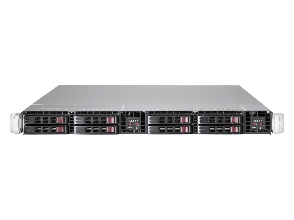 1U Dual Node Server with Dual CPU Support for Virtualisation