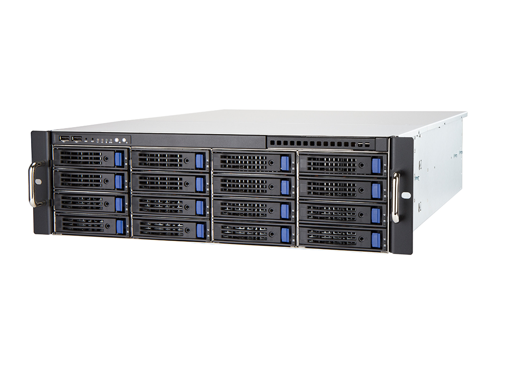 3U Rackmount Server for 12-48 IP Cameras - Powered by CathexisVision