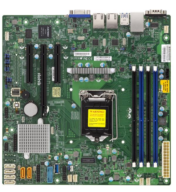 1U Short Depth Xeon E3 Supermicro Server - Server Store
