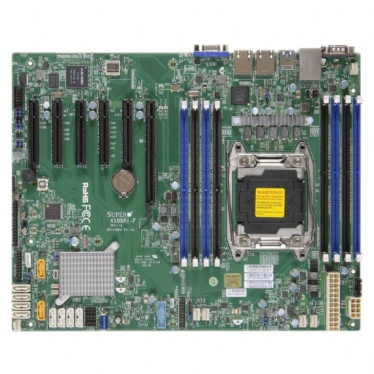 1U Xeon E5-2600 Supermicro Server with 4x Hot-Swap Bays - Single PSU