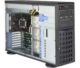 Supermicro Xeon Scalable Tower Server - 8-Bay Hot-Swap - SYS-7049P-TR